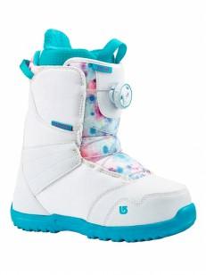 BURTON topánky ZIPLINE BOA WHITE/FROSTBERRY