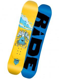 RIDE snowboard LOWRIDE BLU/YEL