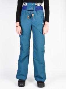 PICTURE kalhoty TREVA 10/10 PETROL BLUE