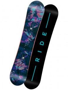 RIDE snowboard RAPTURE BLK/BLU