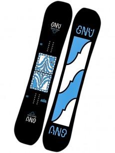 GNU snowboard ASYM FB SPACE CASE C BLK/BLU 153
