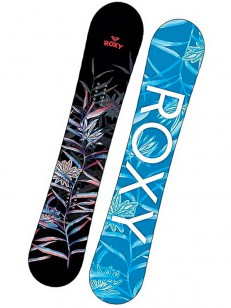 ROXY snowboard WAHINE BOARD RKR BLU/BLK 142