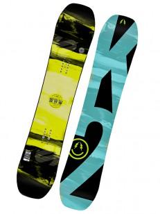 K2 snowboard WWW YEL/GRN