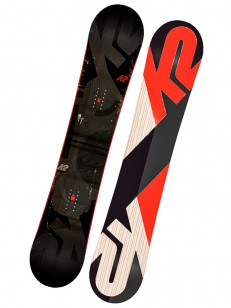 K2 snowboard STANDARD BLK/RED/GRY