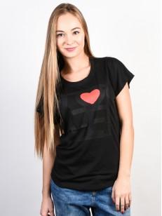 EZEKIEL tričko LOVE BLK