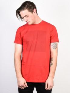 NIXON triko REVERB RED