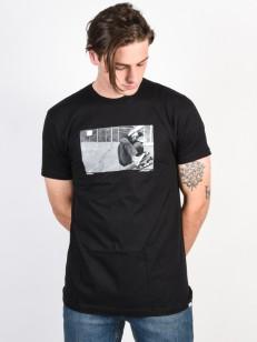 NIXON triko ASPHALT BLACK