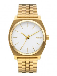 NIXON hodinky TIME TELLER GOLDWHITE