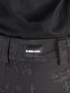 ARMADA kalhoty LENOX INSULATED black floral emboss
