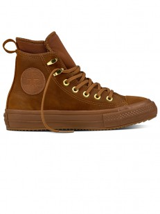 CONVERSE boty CHUCK TAYLOR WP brown/brown/brass