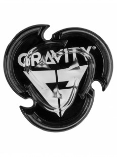 GRAVITY stompad ICON MAT BLACK