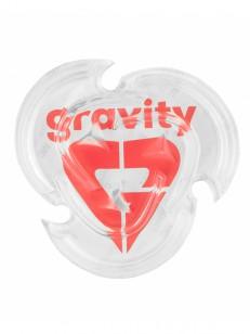 GRAVITY doplnok HEART MAT CLEAR