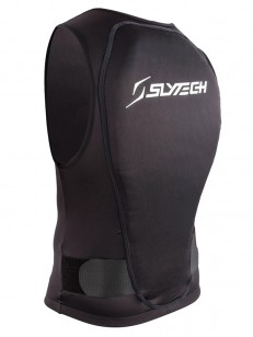 SLYTECH chránič VEST BACKPRO FLEXI XT SNOW Black