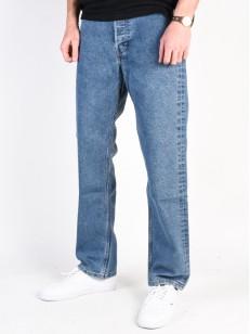 LEVIS kalhoty 501 STF 5 POCKET WALLEN BLUE