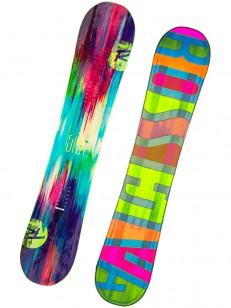 ROSSIGNOL snowboard DIVA LF (LITE FRAME) PIN/GRN