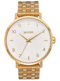 NIXON hodinky ARROW ALLGOLDWHITE