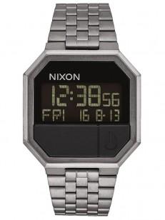 NIXON hodinky RE-RUN ALLGUNMETAL