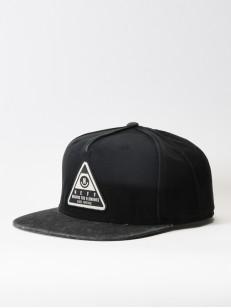 NEFF kšiltovka X WASH BLACK/BLACK