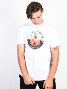 ELEMENT tričko BOROUGHS OPTIC WHITE
