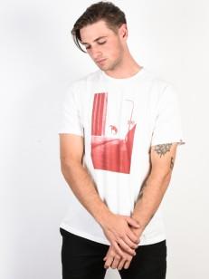 ELEMENT tričko DOWNTOWN BONE WHITE