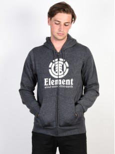 ELEMENT mikina VERTICAL CHARCOAL HEATHER