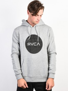 RVCA mikina RVCA MOTORS ATHLETIC HEATHER