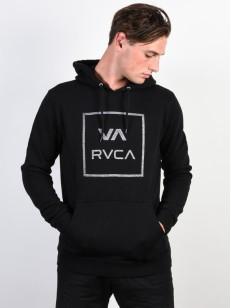 RVCA mikina VA ALL THE WAY BLACK