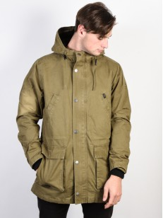 RVCA bunda GROUND CONTROL II BURNT OLIVE