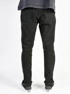 RVCA kalhoty DAGGERS PIGMENT COR. PIRATE BLACK
