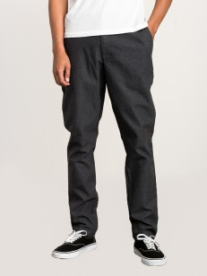 RVCA kalhoty ALL TIME ARC PIRATE BLACK