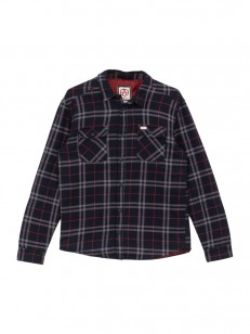 RVCA košile AR PLAID NEW NAVY