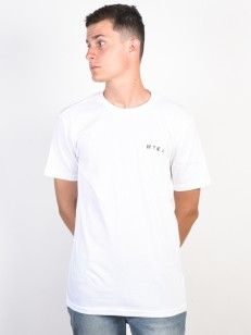RVCA triko DETENTION WHITE