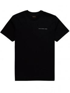 RVCA tričko FLETCHER SKULL BLACK