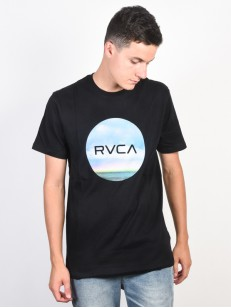 RVCA triko MOTORS STANDARD BLACK