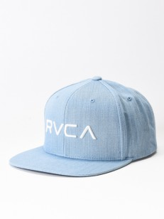RVCA kšiltovka TWILL III DENIM BLUE