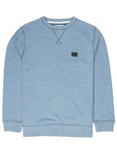 BILLABONG mikina ALL DAY WASHED BLUE