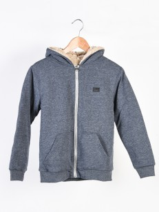 BILLABONG mikina ALL DAY SHERPA NAVY