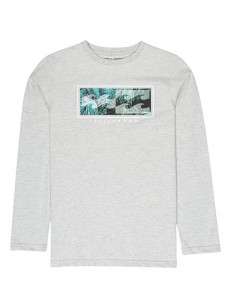 BILLABONG triko INVERSED GREY HEATHER