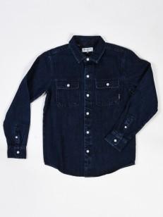 BILLABONG košile HOUDEKAN DENIM INDIGO WASH