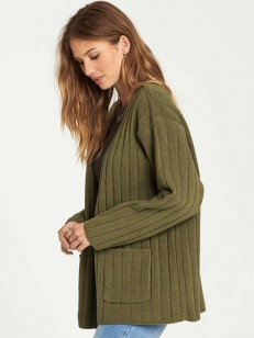 BILLABONG svetr JUST RELAX OLIVE