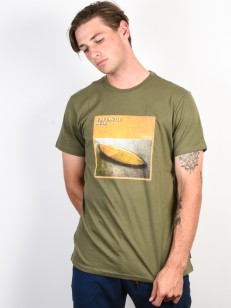 BILLABONG triko FLEX HULL LT MILITARY