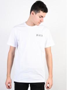 RVCA triko CAVOLO TIGER WHITE