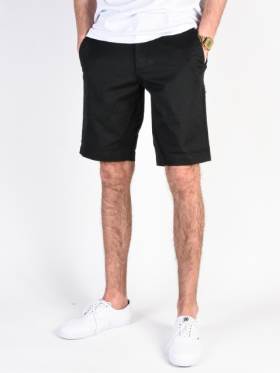 RVCA kraťasy WEEKEND STRETCH BLACK