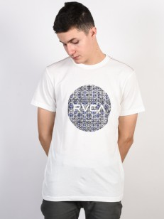 RVCA triko MOTORS ANTIQUE WHITE