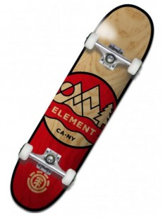 ELEMENT komplet CONES RED/BRW 8