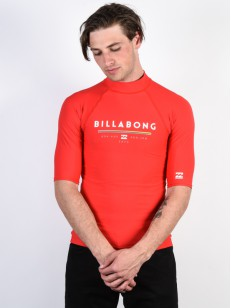 BILLABONG lycra triko UNITY RED
