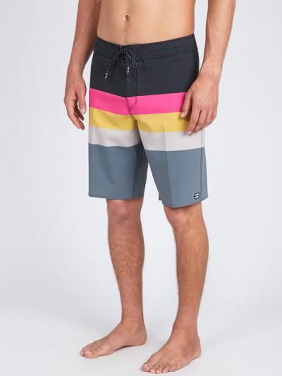 BILLABONG koupací šortky MOMENTUM X SHORT 17 BLACK