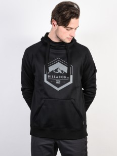 BILLABONG mikina DOWNHILL BLACK CAVIAR