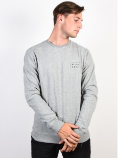 BILLABONG mikina DIE CUT THEME GREY HEATHER