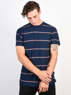 BILLABONG triko DIE CUT STRIPE DARK BLUE